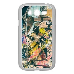 Art Graffiti Abstract Vintage Samsung Galaxy Grand Duos I9082 Case (white)