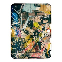 Art Graffiti Abstract Vintage Samsung Galaxy Tab 4 (10 1 ) Hardshell Case