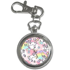 Unicorn Rainbow Key Chain Watches by Nexatart