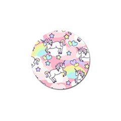 Unicorn Rainbow Golf Ball Marker (10 Pack)