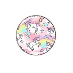 Unicorn Rainbow Hat Clip Ball Marker