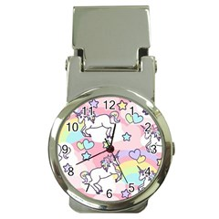 Unicorn Rainbow Money Clip Watches by Nexatart