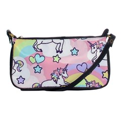 Unicorn Rainbow Shoulder Clutch Bags by Nexatart