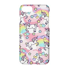 Unicorn Rainbow Apple Iphone 7 Hardshell Case