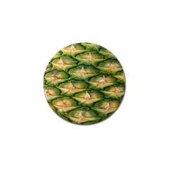 Pineapple Pattern Golf Ball Marker (4 Pack) by Nexatart
