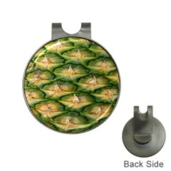 Pineapple Pattern Hat Clips With Golf Markers