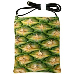 Pineapple Pattern Shoulder Sling Bags by Nexatart