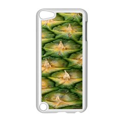 Pineapple Pattern Apple Ipod Touch 5 Case (white) by Nexatart