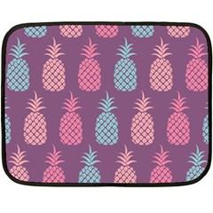 Pineapple Pattern Fleece Blanket (mini)