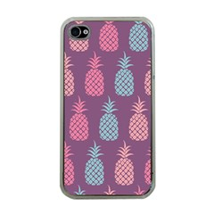 Pineapple Pattern Apple Iphone 4 Case (clear)