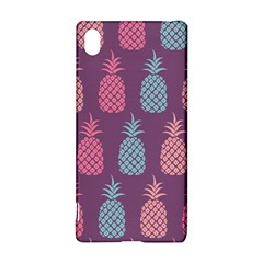 Pineapple Pattern Sony Xperia Z3+ by Nexatart