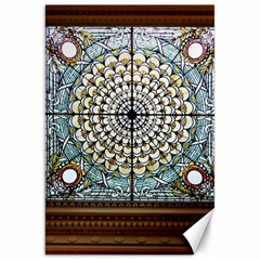 Stained Glass Window Library Of Congress Canvas 20  X 30   by Nexatart