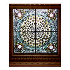 Stained Glass Window Library Of Congress Shower Curtain 60  X 72  (medium)