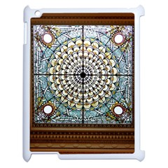 Stained Glass Window Library Of Congress Apple Ipad 2 Case (white) by Nexatart