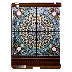 Stained Glass Window Library Of Congress Apple Ipad 3/4 Hardshell Case (compatible With Smart Cover) by Nexatart