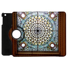 Stained Glass Window Library Of Congress Apple Ipad Mini Flip 360 Case by Nexatart