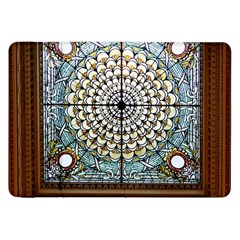 Stained Glass Window Library Of Congress Samsung Galaxy Tab 8 9  P7300 Flip Case