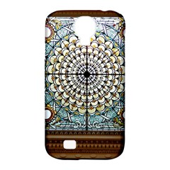 Stained Glass Window Library Of Congress Samsung Galaxy S4 Classic Hardshell Case (pc+silicone)