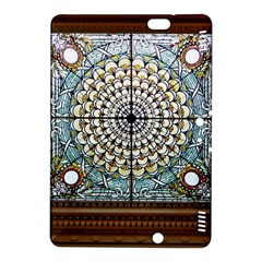 Stained Glass Window Library Of Congress Kindle Fire Hdx 8 9  Hardshell Case by Nexatart