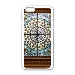Stained Glass Window Library Of Congress Apple Iphone 6/6s White Enamel Case
