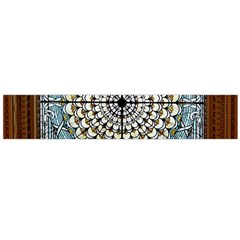 Stained Glass Window Library Of Congress Flano Scarf (large)