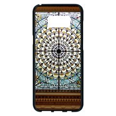 Stained Glass Window Library Of Congress Samsung Galaxy S8 Plus Black Seamless Case
