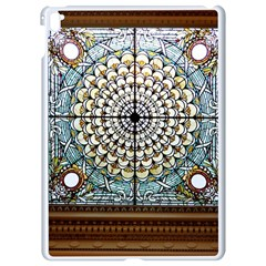 Stained Glass Window Library Of Congress Apple Ipad Pro 9 7   White Seamless Case by Nexatart