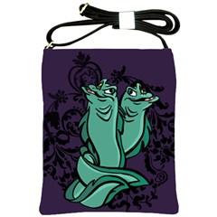 Body Language Shoulder Sling Bag by mundanemagicco