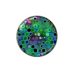 Psychedelic Lights 1 Hat Clip Ball Marker (10 Pack) by MoreColorsinLife