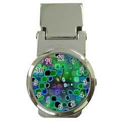 Psychedelic Lights 1 Money Clip Watches by MoreColorsinLife
