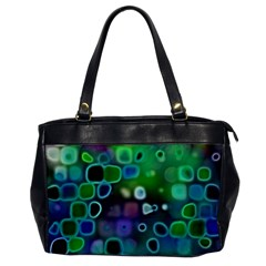 Psychedelic Lights 1 Office Handbags by MoreColorsinLife