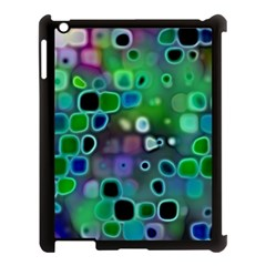 Psychedelic Lights 1 Apple Ipad 3/4 Case (black) by MoreColorsinLife