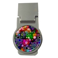 Psychedelic Lights 2 Money Clips (round)  by MoreColorsinLife