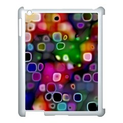 Psychedelic Lights 2 Apple Ipad 3/4 Case (white) by MoreColorsinLife