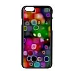 Psychedelic Lights 2 Apple iPhone 6/6S Black Enamel Case Front