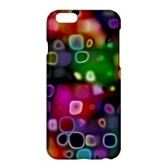 Psychedelic Lights 2 Apple Iphone 6 Plus/6s Plus Hardshell Case by MoreColorsinLife