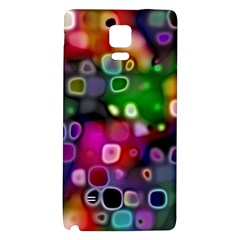 Psychedelic Lights 2 Galaxy Note 4 Back Case by MoreColorsinLife