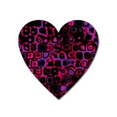 Psychedelic Lights 3 Heart Magnet by MoreColorsinLife