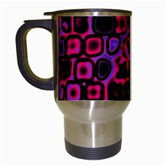 Psychedelic Lights 3 Travel Mugs (white) by MoreColorsinLife