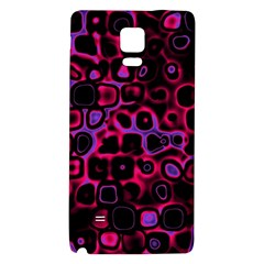 Psychedelic Lights 3 Galaxy Note 4 Back Case by MoreColorsinLife