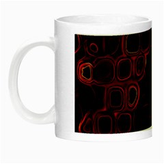 Psychedelic Lights 4 Night Luminous Mugs by MoreColorsinLife