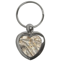 Background Structure Abstract Grain Marble Texture Key Chains (heart)