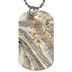 Background Structure Abstract Grain Marble Texture Dog Tag (two Sides)