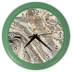 Background Structure Abstract Grain Marble Texture Color Wall Clocks