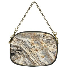 Background Structure Abstract Grain Marble Texture Chain Purses (one Side)  by Nexatart