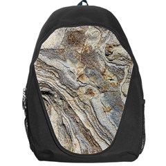 Background Structure Abstract Grain Marble Texture Backpack Bag by Nexatart