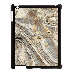 Background Structure Abstract Grain Marble Texture Apple Ipad 3/4 Case (black)