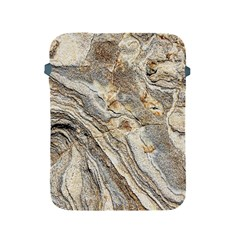 Background Structure Abstract Grain Marble Texture Apple Ipad 2/3/4 Protective Soft Cases by Nexatart