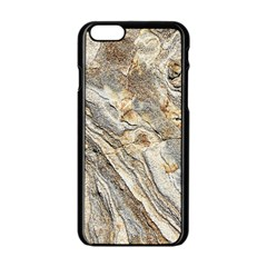 Background Structure Abstract Grain Marble Texture Apple Iphone 6/6s Black Enamel Case