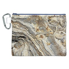 Background Structure Abstract Grain Marble Texture Canvas Cosmetic Bag (xxl) by Nexatart